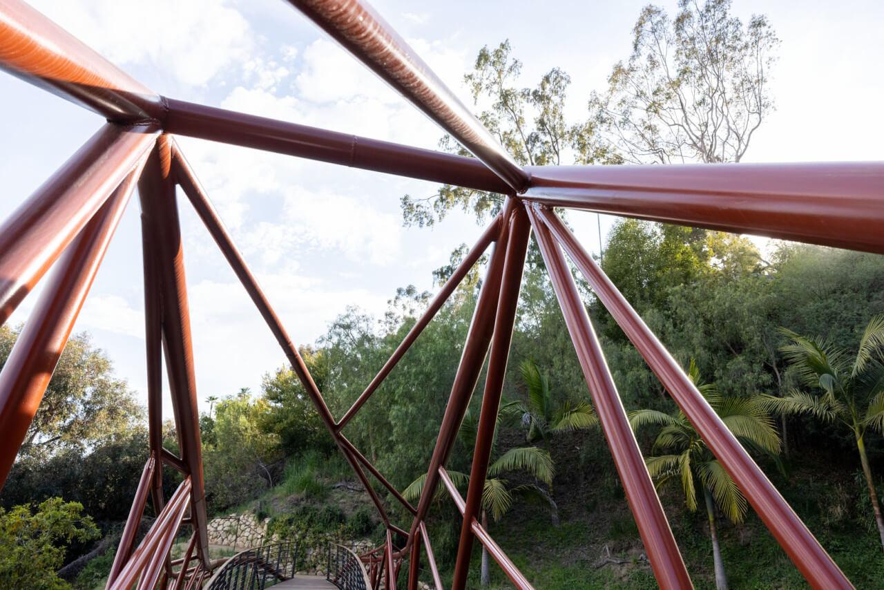 close up image of bridge